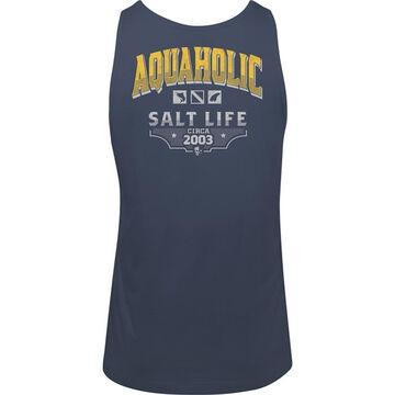 Salt Life Mens Aquaholic Icons Tank Top
