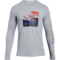 Under Armour Men's US Freedom Eagle Long-Sleeve T-Shirt