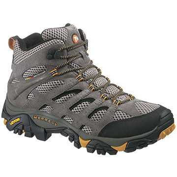 Merrell Mens Moab Mid Cut Ventilator Hiking Boot
