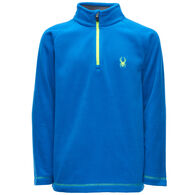Spyder Boys' Speed Fleece Half-Zip Top