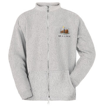 ESY Mens Cabin Full Zip Sweatshirt
