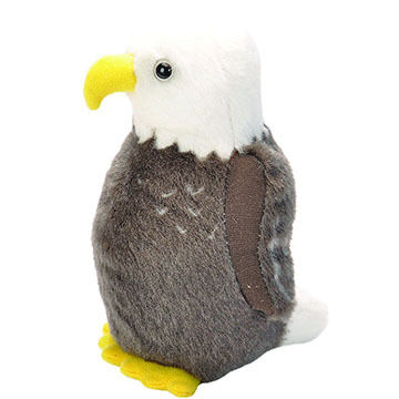 Wild Republic Audubon Stuffed Animal - Bald Eagle