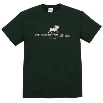 NH Fish and Game Mens Moose Short-Sleeve T-Shirt