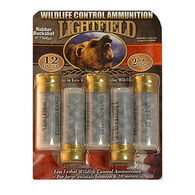 "Lightfield Less Lethal Wildlife Control 12 GA 2-3/4"" Rubber Buckshot Ammo (5)"