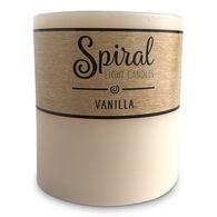 Spiral Light Small Candle - Vanilla & Tobacco