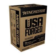 Winchester USA Forged 9mm 115 Grain FMJ Handgun Ammo (50)