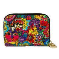 Fig Design Women's Laurel's Garden RFID Zippered Wallet