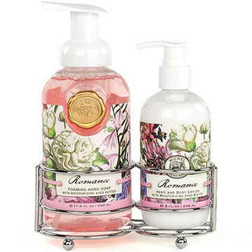 Michel Design Works Romance Handcare Caddy, 3 Piece