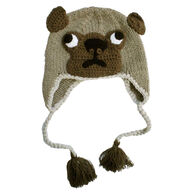 Huggalugs Infant/Toddler Boys' & Girls' Pug Beanie Hat