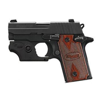 SIG Sauer P238 380 ACP Rosewood Pistol w/ Laser