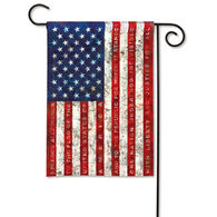 BreezeArt Pledge Of Allegiance Garden Flag
