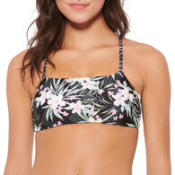 Hot Water Women's Reversible Bralette Swimsuit Top