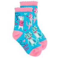Stephen Joseph Toddler Cat Sock