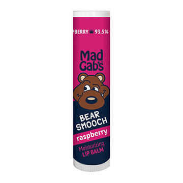 Mad Gab's Raspberry Bear Smooch Stick Lip Balm