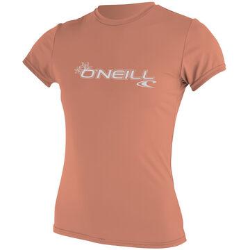 ONeill Womens Basic Skins Short-Sleeve Rashguard