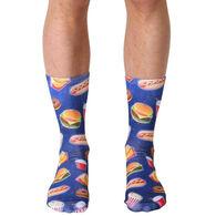 Living Royal Men's Fast Food Galaxy Crew Sock