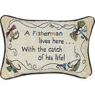 Manual Woodworkers & Weavers Fisherman Pillow