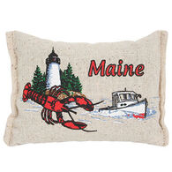"""Paine Products 4"""" x 5.5"""" Boat & Lobster Maine Balsam Pillow"""