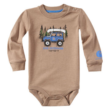 Carhartt Infant/Toddler Boys Live Outdoors Long-Sleeve Bodyshirt