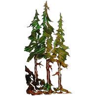 Next Innovations Three Pine Trees Metal Wall Art