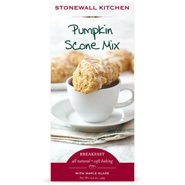 Stonewall Kitchen Pumpkin Scone Mix with Maple Glaze, 12.9 oz.