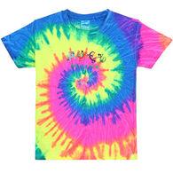 ESY Boys' & Girls' Tie Dye Geckos Short-Sleeve T-Shirt