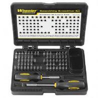 Wheeler 72-Piece Professional Gunsmithing Screwdriver Set
