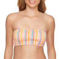Sol Collective Women's Terra Stripe Bandeau Swimsuit Top