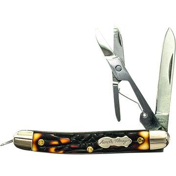 Uncle Henry Gambler Folding Pocket Knife