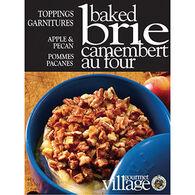 Gourmet Du Village Brie Topping - Apple Pecan