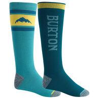 Burton Men's Weekend Midweight Sock, 2-Pack