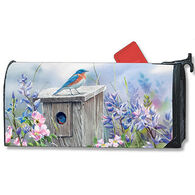 MailWraps Bluebird Lookout Magnetic Mailbox Cover