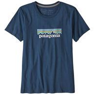 Patagonia Women's Pastel P-6 Logo Organic Cotton Crew Short-Sleeve T-Shirt