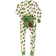 Lazy One Women's No Peeking Flapjacks Onesie Pajama