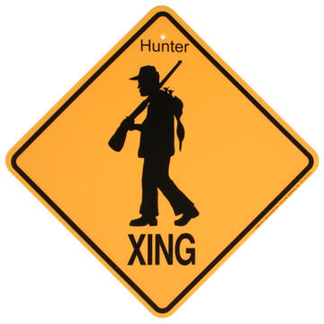 KC Creations Hunter XING Sign