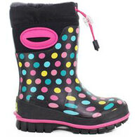 Western Chief Girls' Rainbow Dot Winterprene Boot