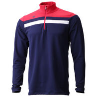 Descente Men's Casin Quarter-Zip Baselayer Top