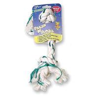 Booda Fresh 'n Floss 2-Knot Rope Bone Dog Toy