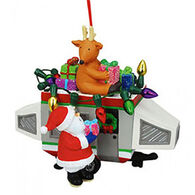 Cape Shore Pop-up Camper With Santa Ornament