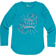 Carhartt Girls' Force Make Today Awesome Long-Sleeve T-Shirt