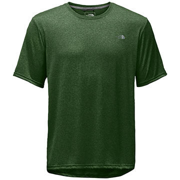 The North Face Mens Reaxion Amp Crew-Neck Short-Sleeve Shirt