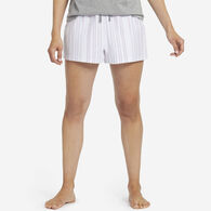 Life is Good Women's Grape Bermuda Stripe Classic Sleep Boxer