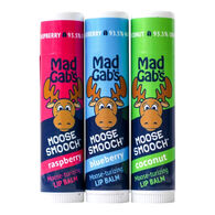 Mad Gab's Moose Smooch 3-Piece Lip Balm Gift Set
