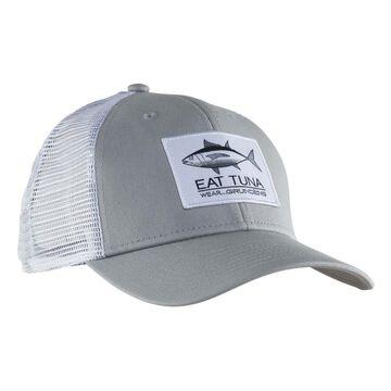 Grundens Mens Eat Tuna Trucker Hat