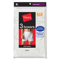 Hanes Men's Full-Cut Boxer with Comfort Flex Waistband - 3 Pack