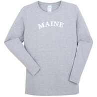 Original Design Women's Maine Arch Long-Sleeve T-Shirt