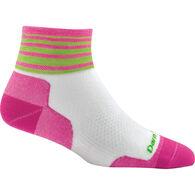 Darn Tough Vermont Women's Stripe Quarter Ultra-Light Cushion Sock