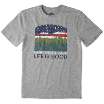 Life is Good Mens Land That I Love Crusher Short-Sleeve T-Shirt