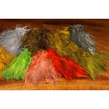 Hareline Fine Black Barred Marabou Fly Tying Material
