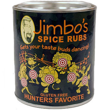 New England Cupboard Jimbo's Hunter's Favorite Spice Rub, 6.5 oz.